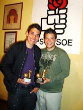 """Campeones I Torneo por parejas """"Pro Socialistas Soccer""""."""