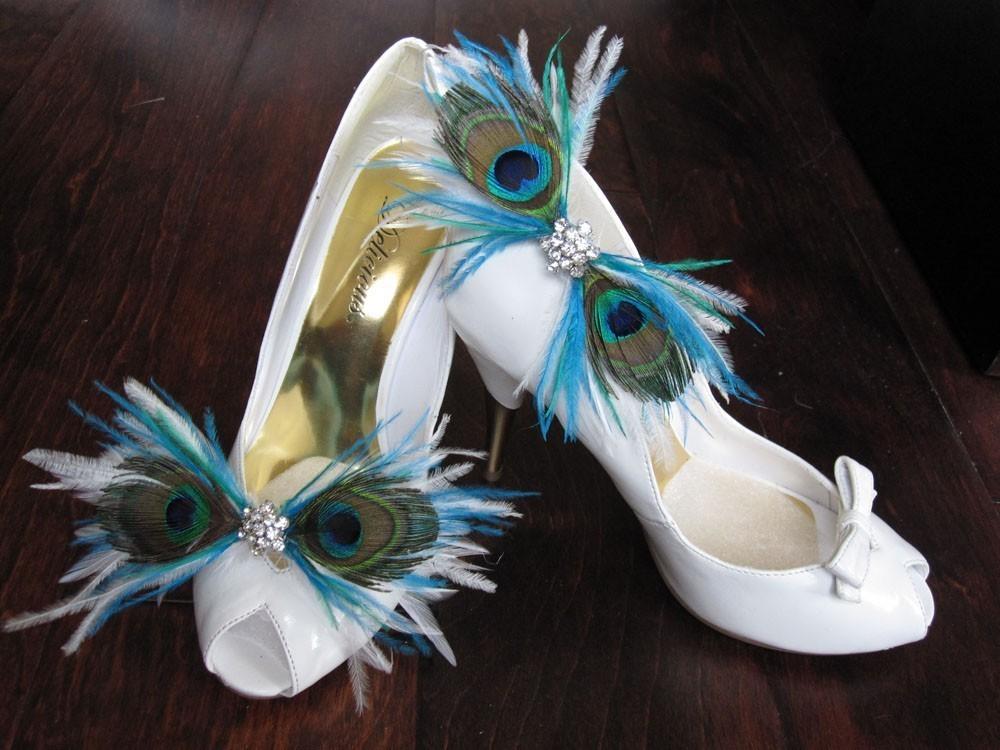 Peacock Monogram Wedding Invitation