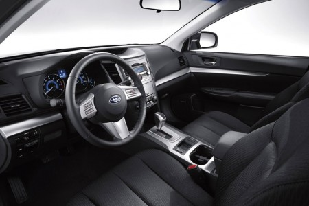 Interior of 2011 Subaru Legacy