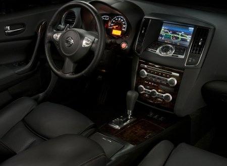 Interior view of 2011 Nissan Maxima