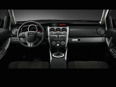 Interior shot of 2011 Mazda CX-7