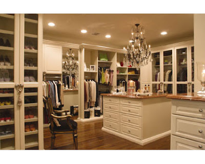 Beautiful Closets Closet Walk In White