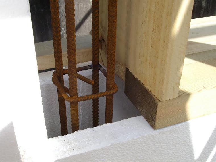 16- Armature d'acier - ouverture