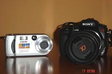 As minhas máquinas fotográficas
