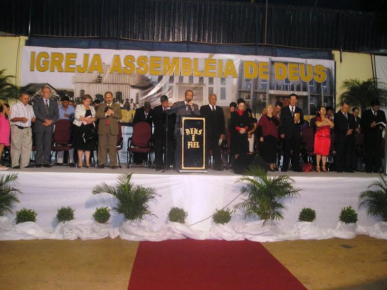 Grande festa no jubileu de ouro da Assembelia de Deus em Toledo-Pr