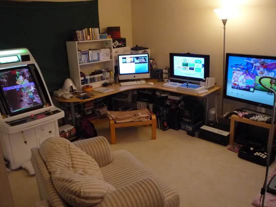 Increibles habitaciones de gamers itecnomax for Decoracion gamer