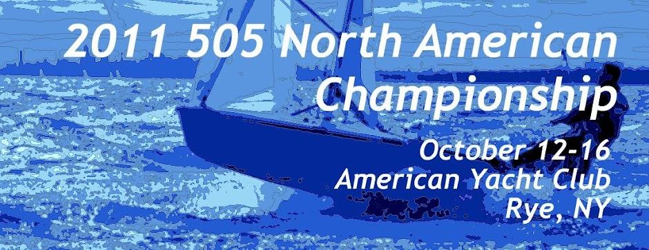 2011 505 North American Championship