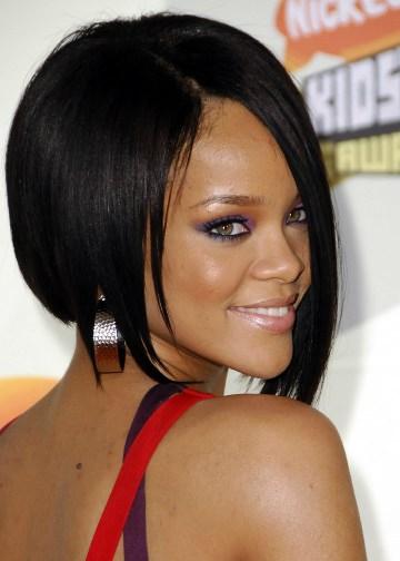 black hairstyles short