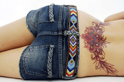 Lower Back Tattoo Pictures