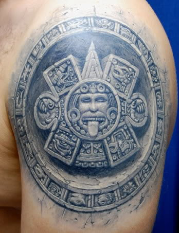 Aztec Tattoos on Japanese Tattoos  Aztec Tattoos