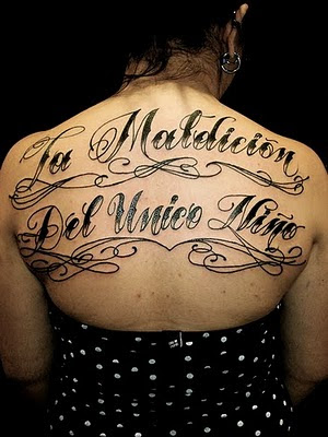 Art Body Painting Ideas: Different Tattoo Lettering