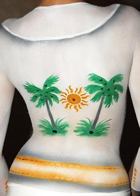 Clothing Body Painting
