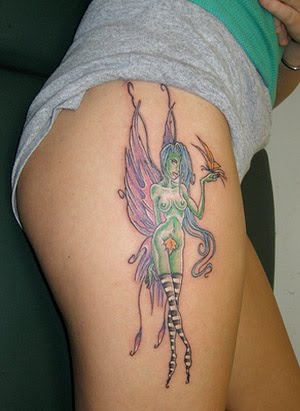 fairy tattoo designs for women-43
