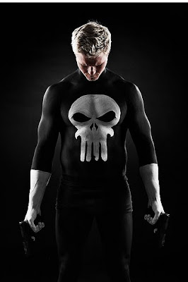 Punisher Body Painting