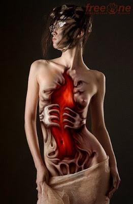 World Amazing Body Painting