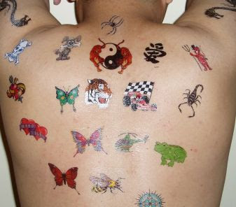 Body painting temporary tattoo designs best choice before getting