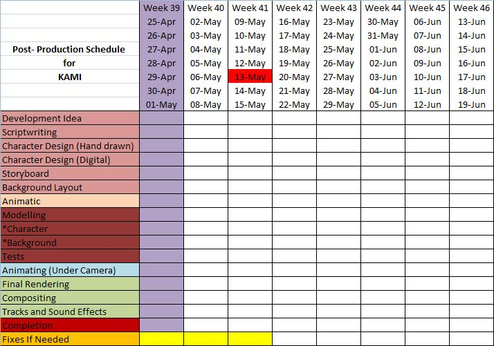 whenmewgoesthewolf kami production schedule