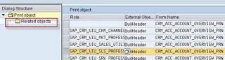 , PDF Factsheet customizing using CRMVC_BUIL_PRT in SM34, Acorel