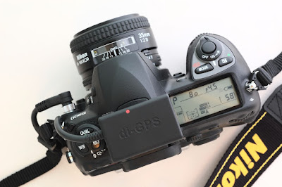 N2-di-GPS-mini GPS Unit for Nikon DSLR