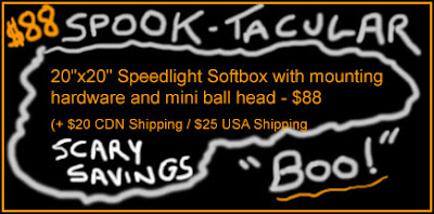 Speedlite Softbox Halloween Spook-tacular Sale