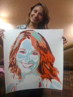 Portrait of a woman, personalized portraits