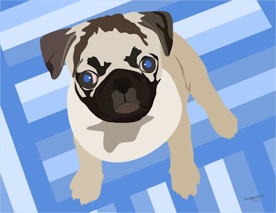 pet of the day,dog art