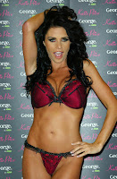 Katie Price's Lingerie Launch