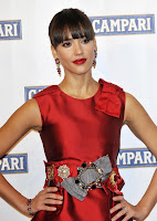 Jessica Alba In The Ugliest Red Dress Ever