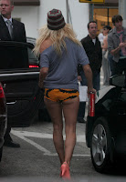 Pamela Anderson Escapes In Her Panties