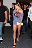 Pamela Anderson Escapes In Her Panties