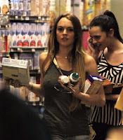 Lindsay Lohan's  Sexy Shopping