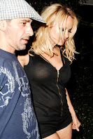 Pamela Anderson's Nipple Is Making A Break For It