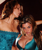 Jennifer Korbin And Louise Glover Sexy Lingerie Picture