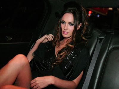 Megan Fox Needs To Hike Up Her Dress A Little Higher