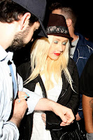 Christina Aguilera Is Leaving The Club Looking A Little Worse For Wear