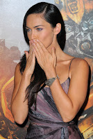 Megan Fox Blows Kisses
