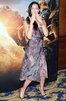 Megan Fox Blows Kisses