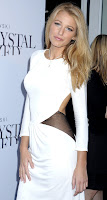 Blake Lively In Sexy White Dresses At The Swarovski Crystallized Concept Store Opening