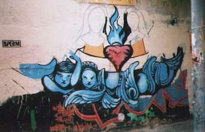 Graffiti Heart,graffiti art