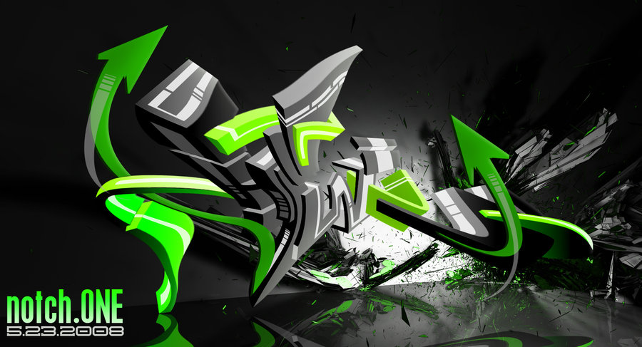 graffiti art wallpaper. 3D GRAFFITI ART - WILDSTYLE