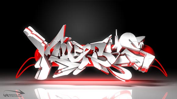 How To Draw 3d Graffiti Letters. 3D Graffiti Letters