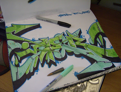 Graffiti Sketch, Wildstyle Graffiti, Graffiti Letters