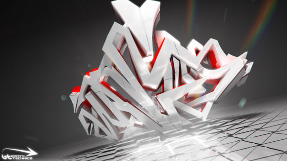 3d graffiti wildstyle. 3D Wildstyle Graffiti - Full
