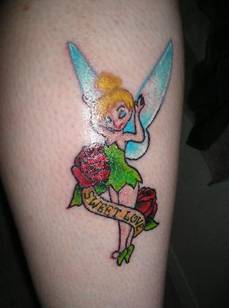 tinkerbell tattoos best small tattoo ideas for women best tattoo pictures. Black Bedroom Furniture Sets. Home Design Ideas