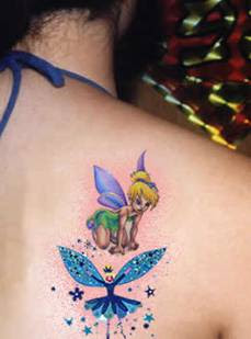 tinkerbell tatto