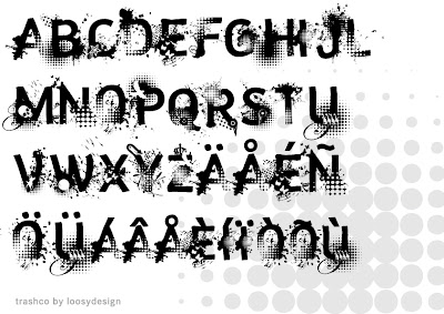 Digital Graffiti Alphabet