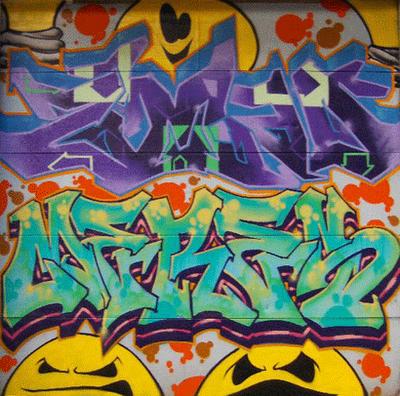 3d graffiti wallpapers. 3d graffiti wallpaper.
