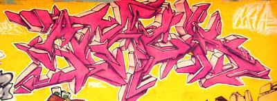 arrow graffiti alphabet