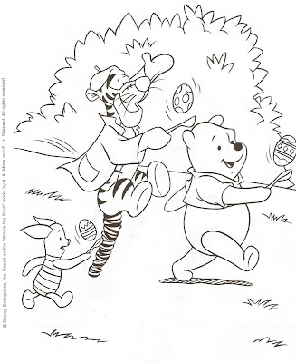 Disney Coloring Pages,winnie the pooh