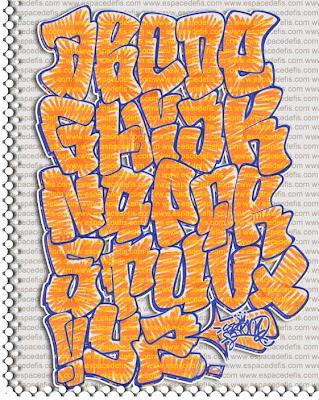 3d graffiti alphabet letters z. Graffiti Alphabet quot;Letters